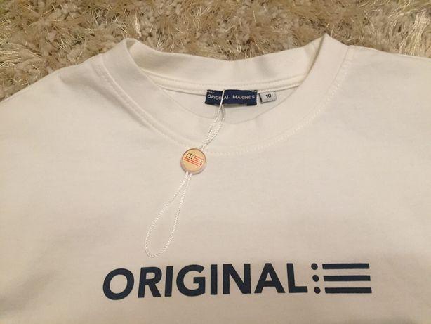 NOWA bluzka koszulka ORIGINAL MARINES 8-9 lat roz. 140/146