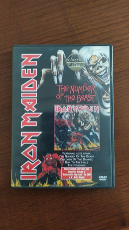 """DVD - Iron Maiden - """"The Number of The Beast"""""""
