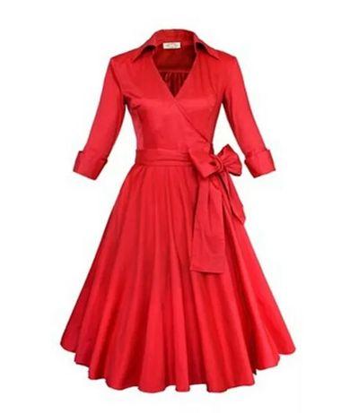 34 36 Efektowna sukieneczka Orsay**RETRO**