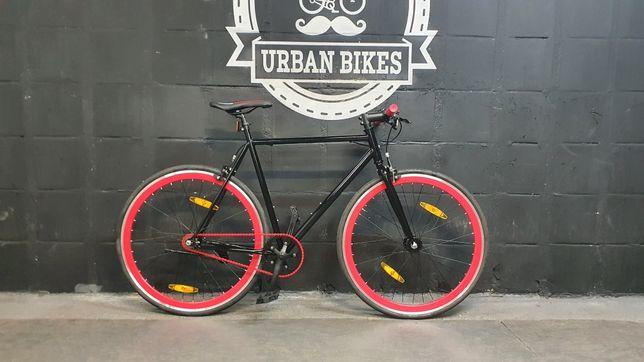 Rower miejski single speed Fixie ostre koło 60 cm Urban Bikes