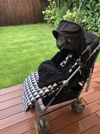 Wózek spacerówka Maclaren XLR bdb stan zimowy gruby śpiworek gratis