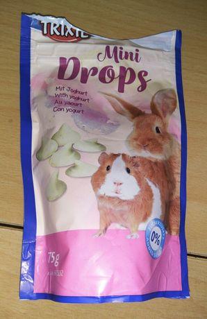 Мини дропсы с йогуртом для грызунов, крысок, мишек, кроликов.