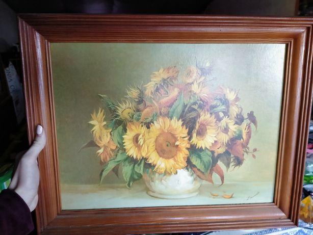 Картина соняшники