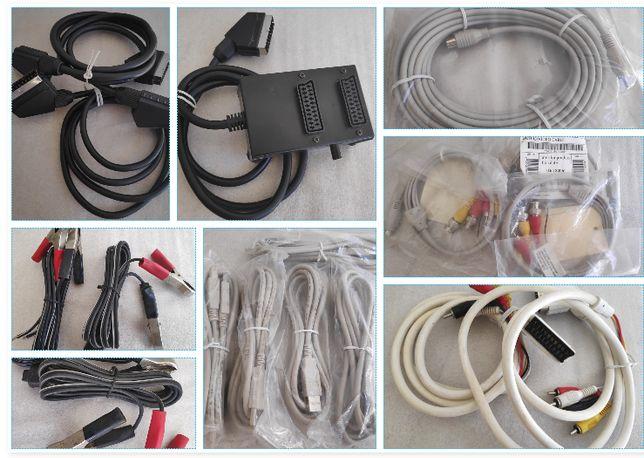 Cabos vários video/audio e acessórios ETC.