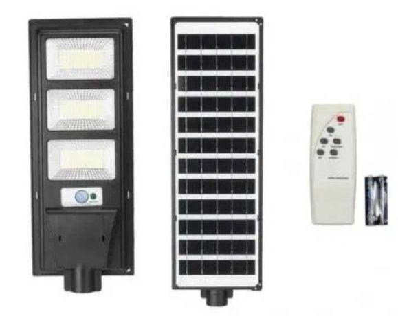 Lampa 200W solarna z panelem. Lampa uliczna ogrodowa Nowa