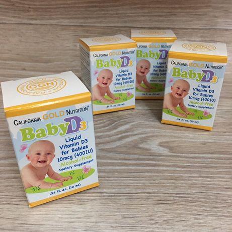 ВитаминD3 в каплях для детей California Gold Nutrition