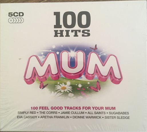 5 CD 100 Hits Mum продам