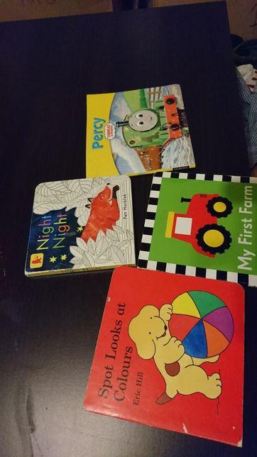 Kolorowe książeczki dziecięce język angielski