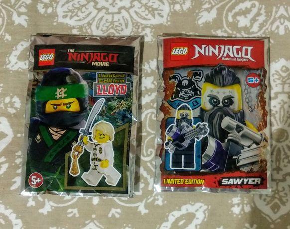 Figurki LEGO NINJAGO Nowe, 2 sztuki