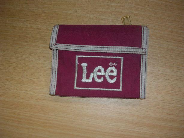Carteira Lee vermelha