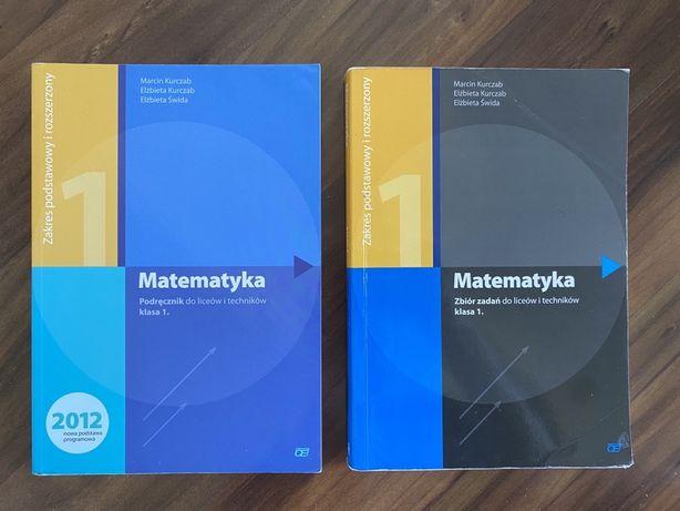 Matematyka klasa 1 zbiór zadań i podręcznik Oficyna Pazdro Kurczab