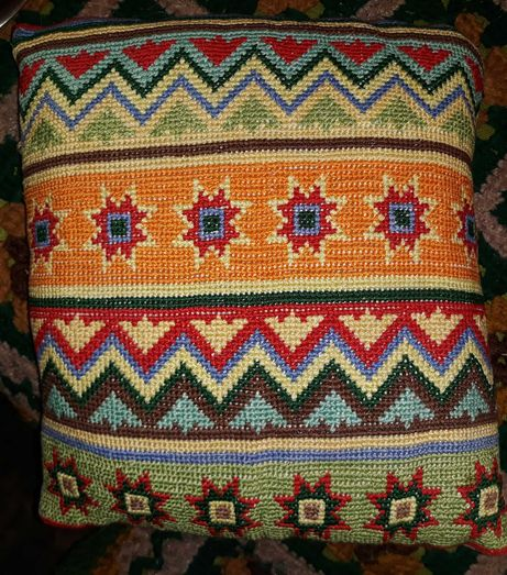 Poduszki haftowane