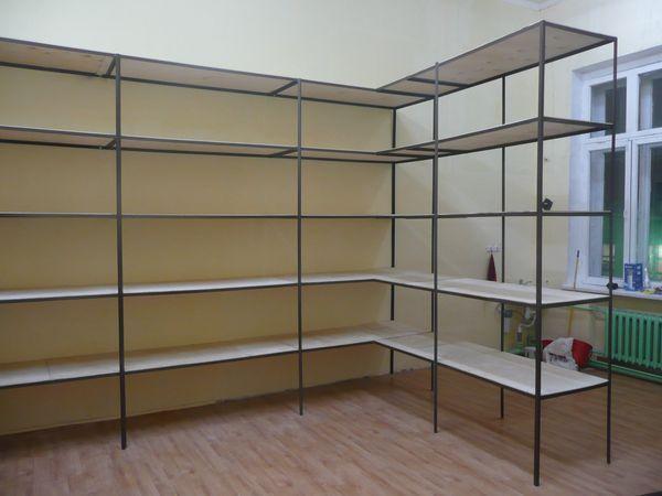 Купить стеллажи в Донецке..