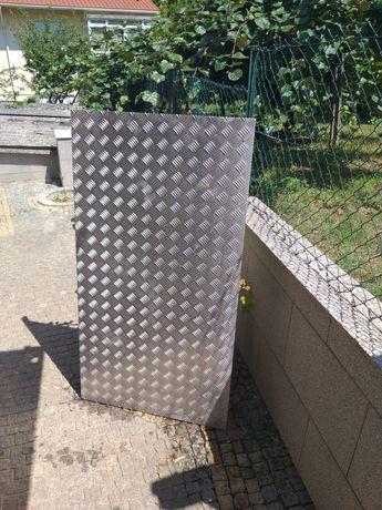 Chapa de alumínio anti derrapante