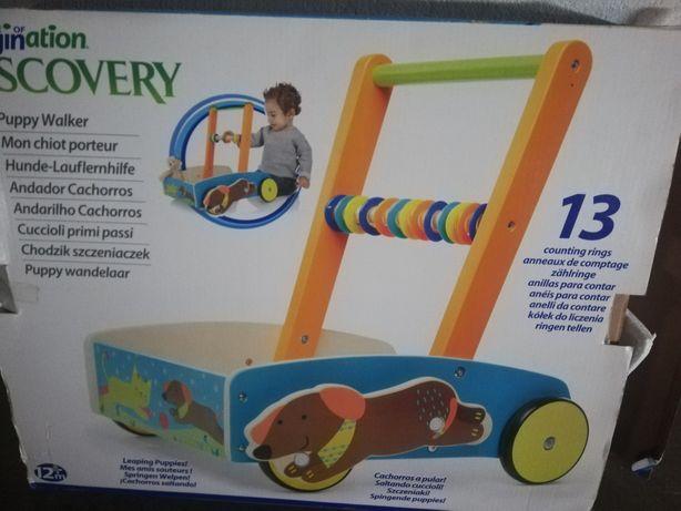Andador/Andarilho/baby walker, de madeira