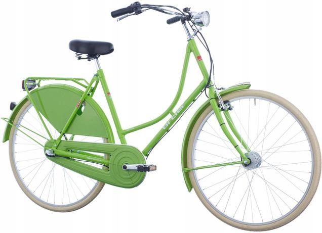 Holenderski Rower Miejski Damski 28 Damka Retro