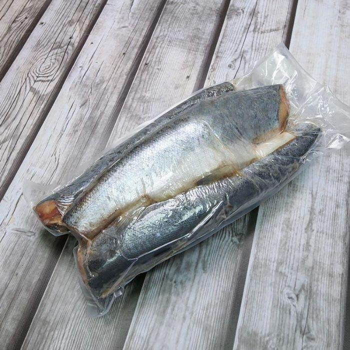 Сёмга замороженная, 1-2 кг. Без головы\Без хвоста. Киев - изображение 1
