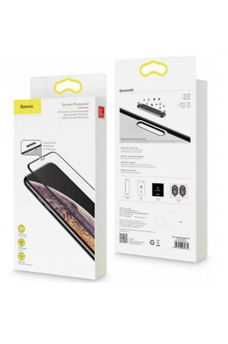 Защитное стекло Baseus Full Coverage Curved Tempered Glass 0.3 mm Blac Черновцы - изображение 1