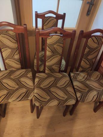Zestaw 4 krzeseł w bardzo dobrym stanie