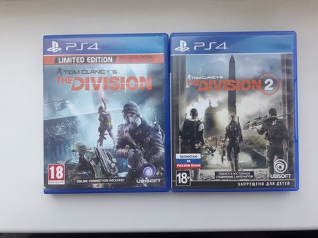 The division 2 Tom Clancys ps4