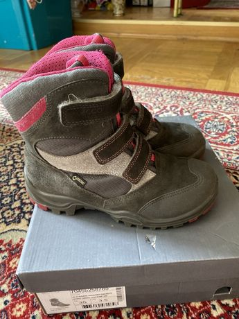 Buty zimowe Ecco roz 35 dla dziewczynki