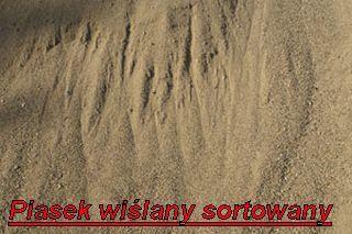 piach piasek wiślany płukany sortowany 0-2 (przesiewany)Wawer okolice