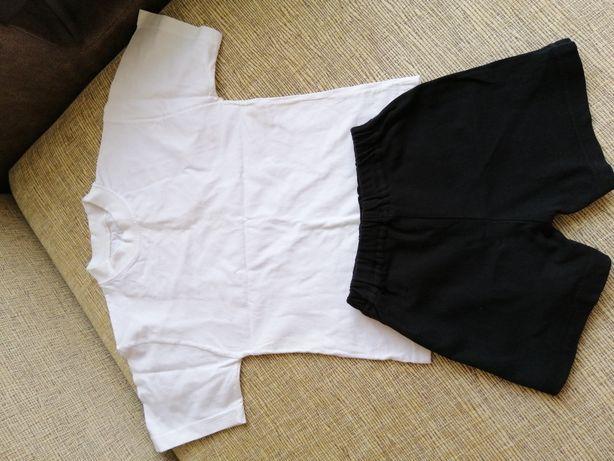 Спортивная форма футболка и шорты на 5-6 лет