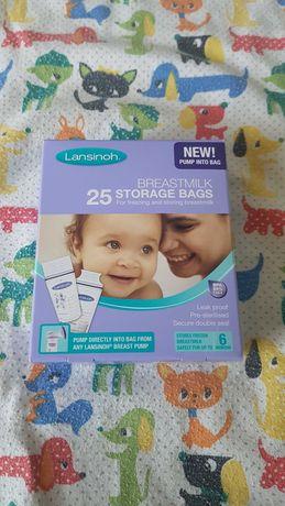 Пакеты для хранения грудного молока, Lansinoh (Лансино), 24 шт