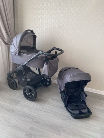 коляска Baby Design Lupo Comfort Beige 2 в 1