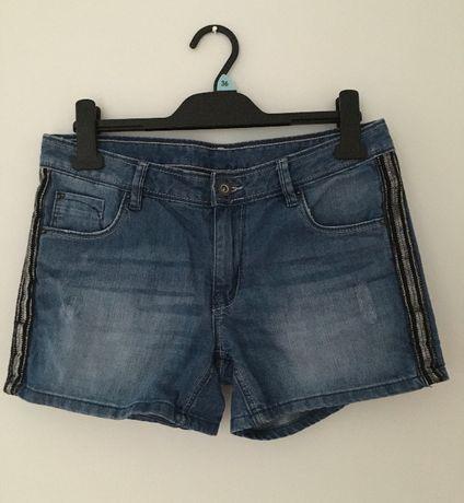 Szorty jeansowe 164