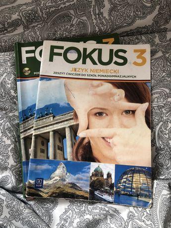 Fokus 3 niemiecki podręcznik + ćwiczenia