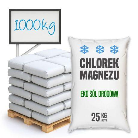 Eko Sól drogowa - Chlorek magnezu 1000 kg (40 worków)