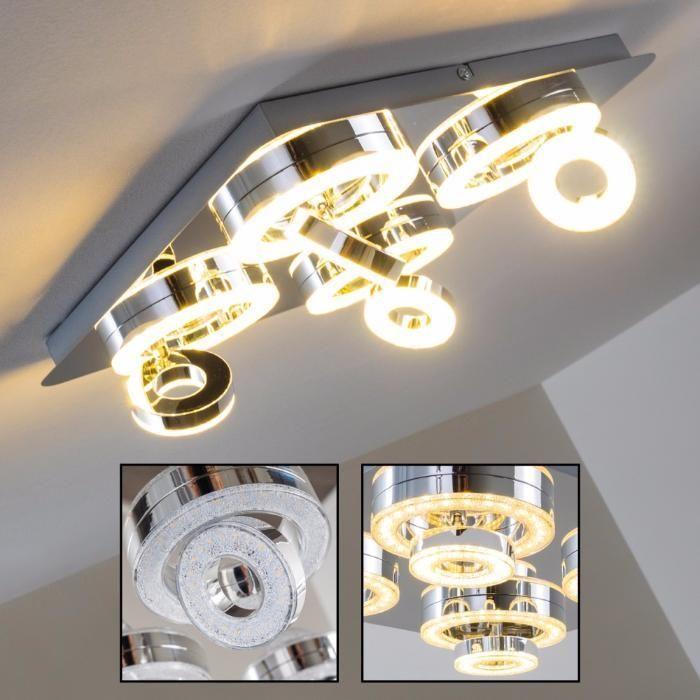 Lampa sufitowa TIM LED 14522-1 Leuchten Direkt kierowana mrożone szkł Częstochowa - image 1