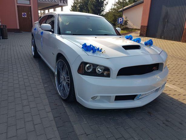 Dekoracja na samochód niebieska orchidea