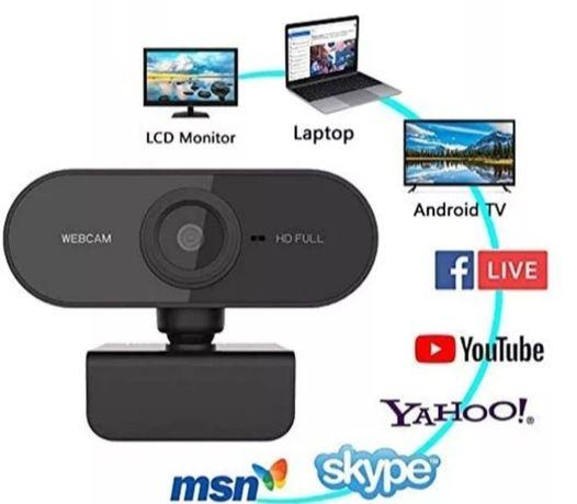 Kamera internetowa 1080MP Full HD do zdalnego nauczania