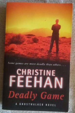 """Livro """"Deadly Games"""" de Christine Feehan"""