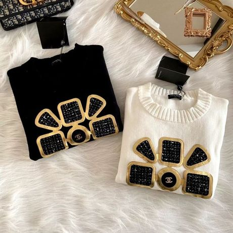 firmowy sweter CHANEL