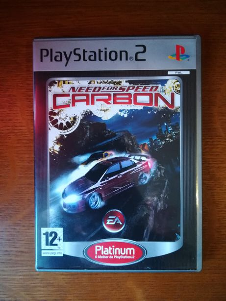 Jogo PS2 - Need For Speed Carbon