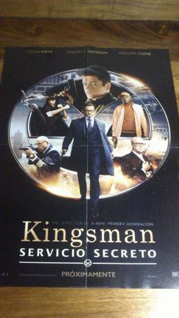 Poster Kingsman / House of cards