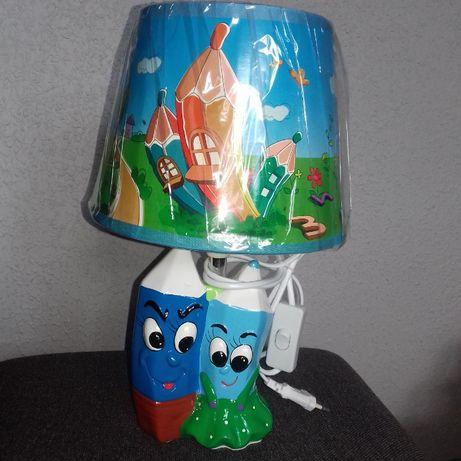 Lampka nocna Kredki wys.34 cm