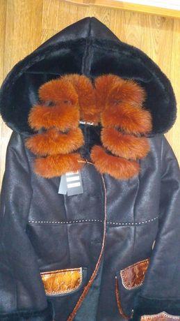 Новая дублёнка пальто