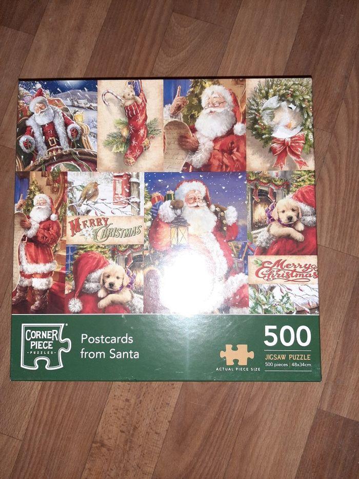 Christmas Santa Claus Jigsaw Puzzle 500 Pieces Киев - изображение 1