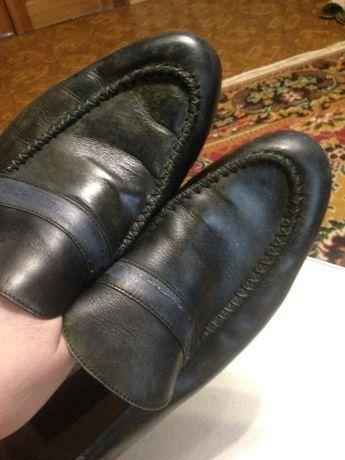 Туфли мужские,кожаные 43-44р.б/у