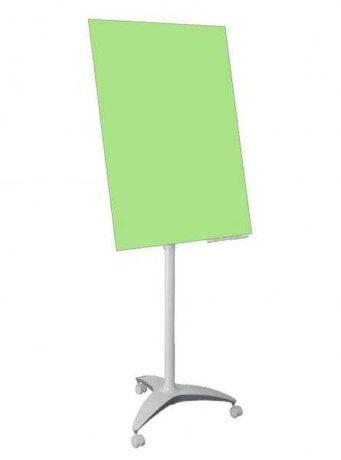 Flipchart szklany 100x70 firmy 2x3 - NOWY