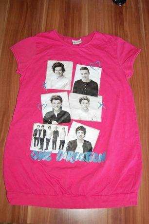 Koszulka One Direction, nowa, na 140-146 cm, na licencji