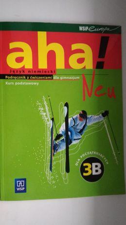 Podręcznik język niemiecki Aha Neu 3B kurs podstawowy nowy