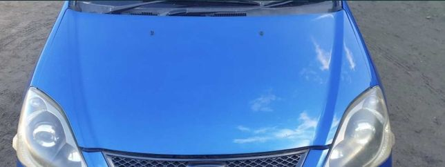 Honda Civic VII B520p maska pokrywa silnika niebieska niebieski