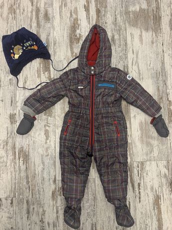 Продам детский комбинезон Chicco Чикко Италия и шапку на 6-12 месяцев