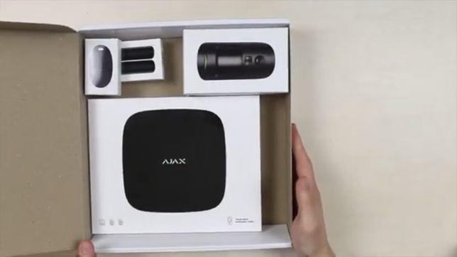 Беспроводная сигналзиация AJAX Starterkit cam black white белая черная