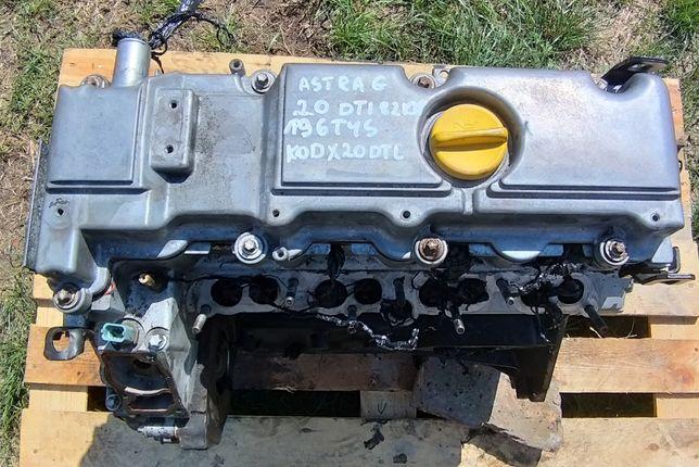 Silnik Astra G 2.0 DTL X20DTL